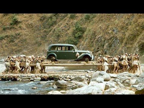 Nepali men carrying car to Kathmandu - Amazing Video   Glamour Nepal