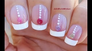 Gambar cover FRENCH MANICURE For The FESTIVE Season With Christmas Ornaments