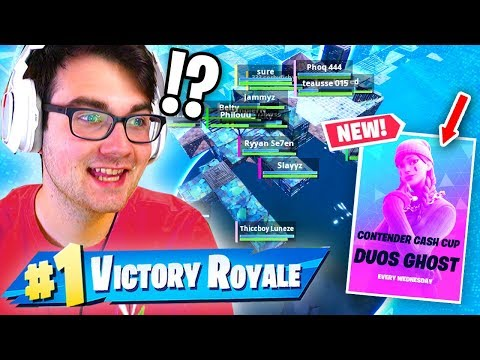 How To WIN Duos Cash Cups with a WORLD CUP QUALIFIER... (Fortnite Competitive)