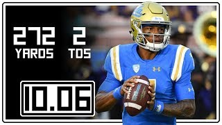 Dorian Thompson-Robinson Full Highlights UCLA vs Washington || 10.06.18 || 272 Yards, 2 TDs