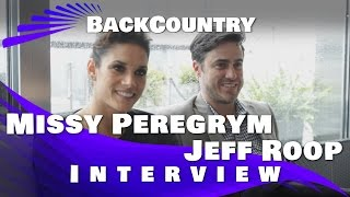 Backcountry - Missy Peregrym Jeff Roop Interview 2015