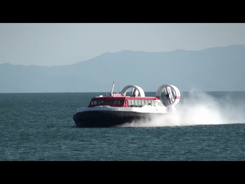 The Last Days of Oita Hover Ferry, Drifting Hover Craft