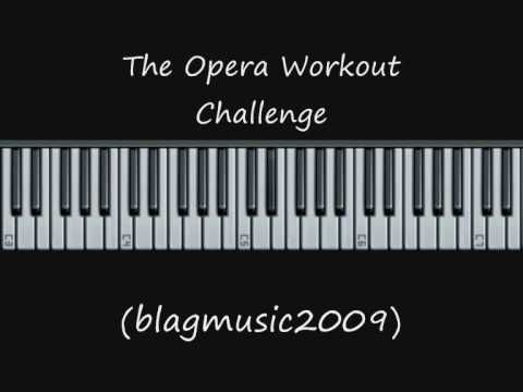 The Opera Singing Workout Challenge - Coloratura Vocal Exercise