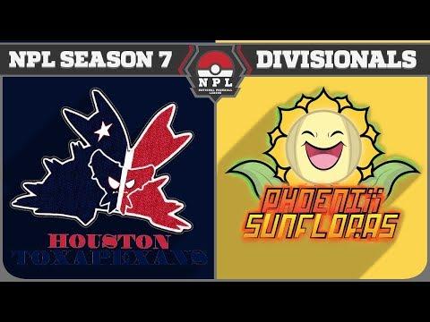 """NPL Season 7 Quarterfinals vs. Phoenix Sunfloras: """"Charging Into Battle!"""""""