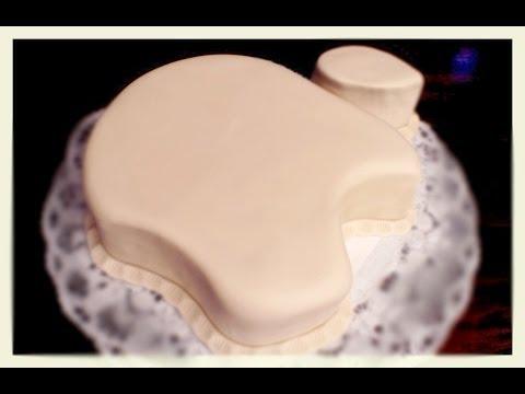 Apple Logo Torte Von Kuchenfee Youtube