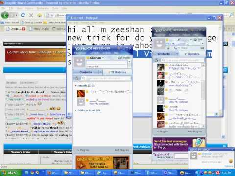 Boot Frnds Yahoo Messenger Without Booter