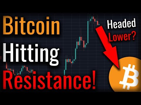 Bitcoin Hitting Resistance! - Cryptocurrency Saved From Securities Law By New Bill?