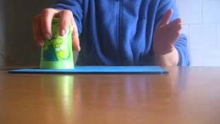 CUP SONG -Tutorial muzica din pahare When I.m Gone