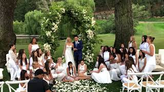 voena sings ill be there at jon chus director crazy rich asians wedding