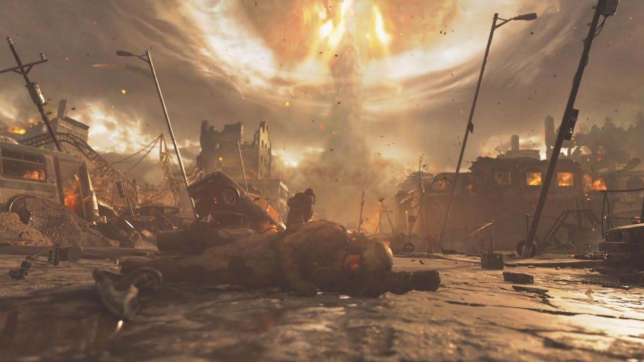 The Nuke Scene in Modern Warfare Remastered - YouTube