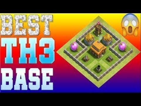 Clash Of Clans Best Town Hall 3 [TH3] Base Design