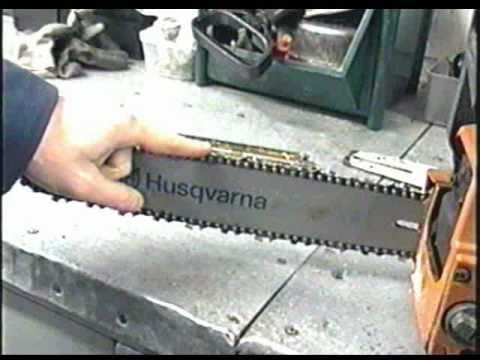 HOW-TO Hand Sharpen A Chainsaw Chain
