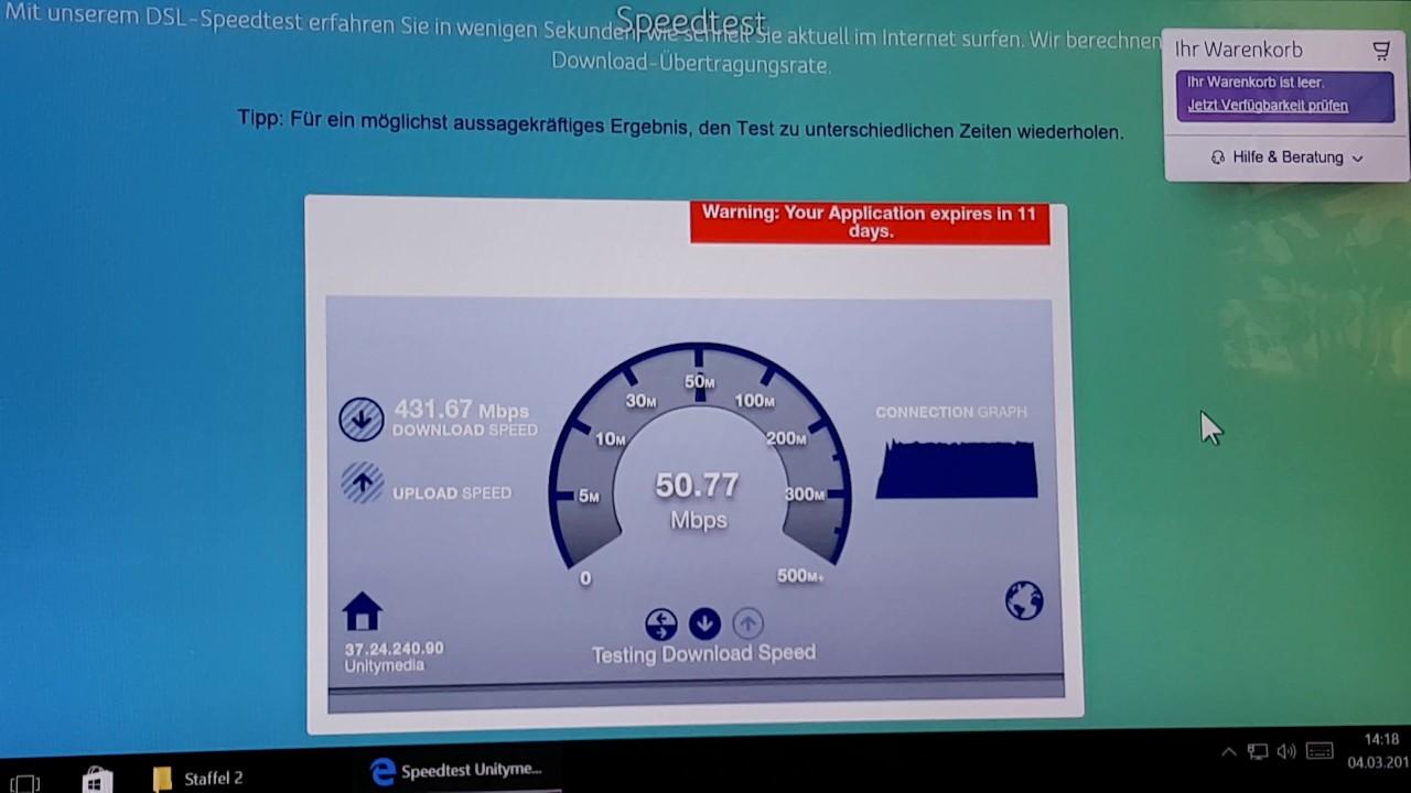 400 Mbit Unitymedia