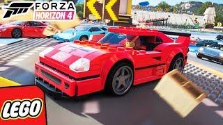 FORZA HORIZON 4 LEGO - A PRIMEIRA CORRIDA!!! (DLC LEGO)