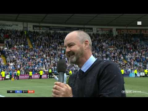 Steve Clarke gives passionate speech after guiding Kilmarnock to 3rd for first time since 1966!