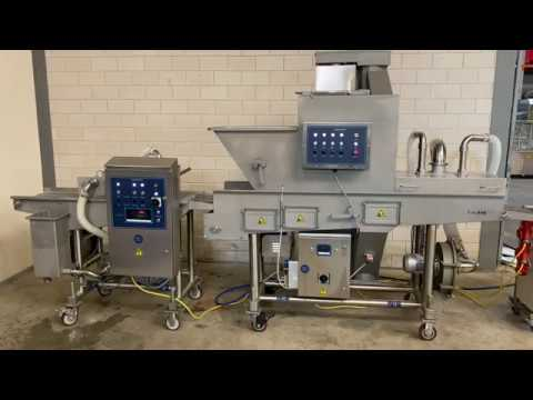 Hiwell Batter And Breading Line. Brand New High Quality Equipment.