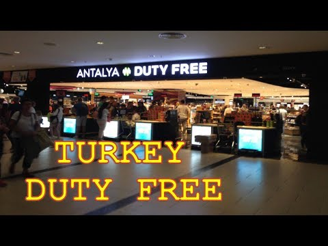 DUTY FREE Анталия ЦЕНЫ! / Antalya Airport Turkey