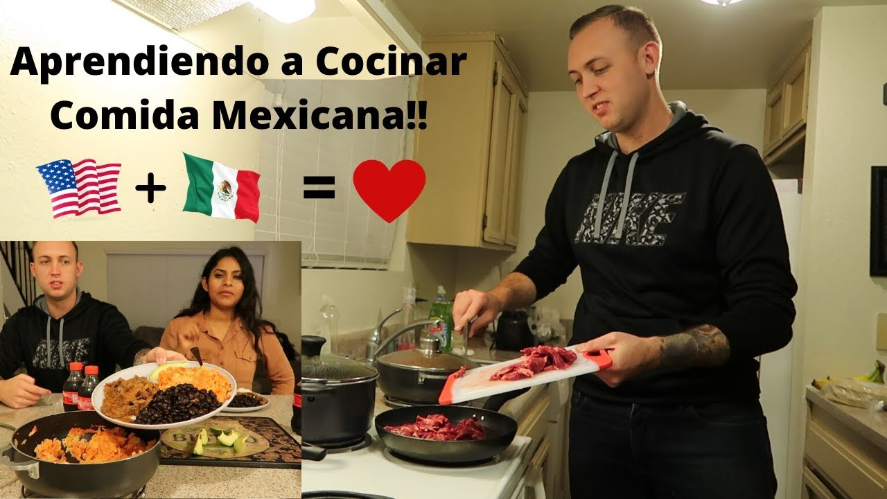 Teaching Boyfriend How To Cook Mexican Food!! Pregnancy