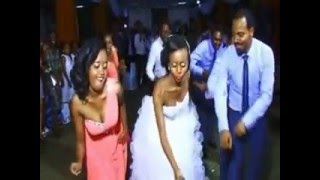 Ethiopian Wedding Dance  2015 - Endale and Hana
