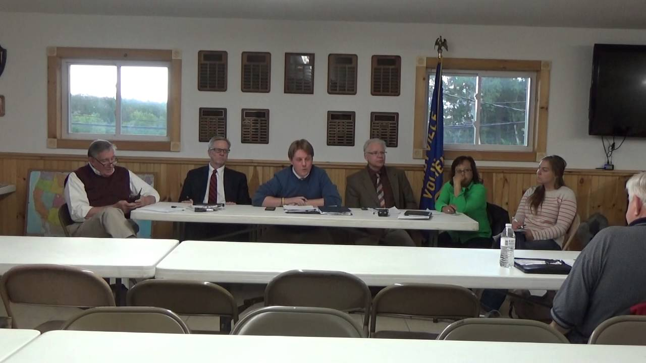 Town of Plattsburgh Meeting Cadyville Fire Dept.  6-13-16