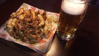 Кольца кальмара. Отличная закуска к Пиву. Кальмары в кляре.beer snack