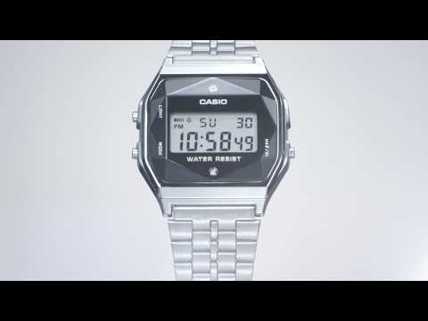 CASIO A159 Made in Japan with Authentic Diamonds thumbnail