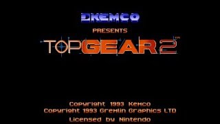 Top Gear 2 (SNES) - Longplay