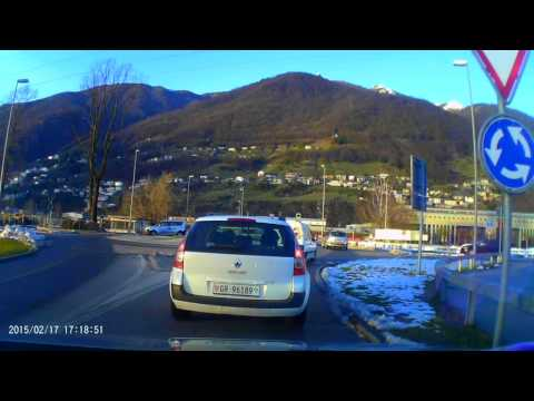 Bad Drivers in Europe Switzerland Dash cam - Pessimi guidatori in Svizzera