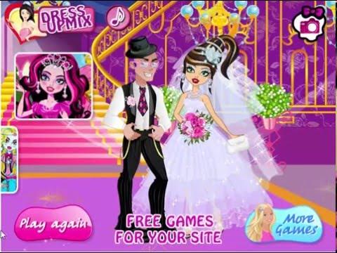 свадьба  Монстер Хай игра . Monster High wedding.