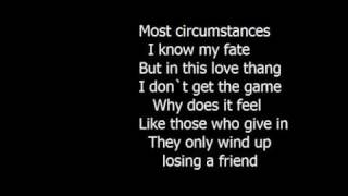 jazmine sullivan - lions and tigers and bears (lyrics)
