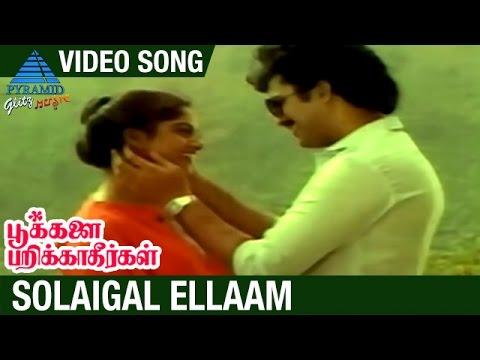 Pookalai Pareekatheergal Tamil Movie Songs | Solaigal Ellaam Video Song | Suresh | Nadhiya