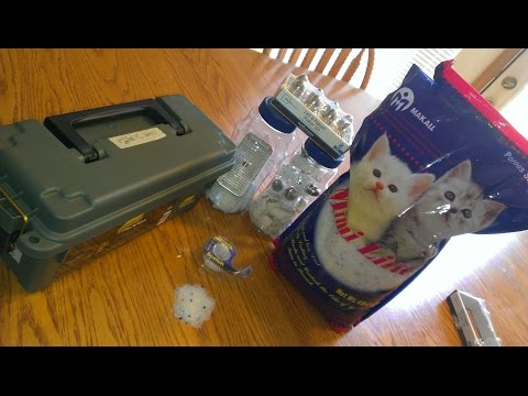 Mimi (Kitty/Cat) Litter As Silica Gel Dessicant