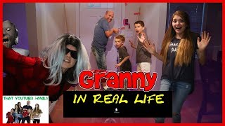 Granny Game In Real Life With Traps / That YouTub3 Family