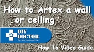 Artexing ceilings and walls