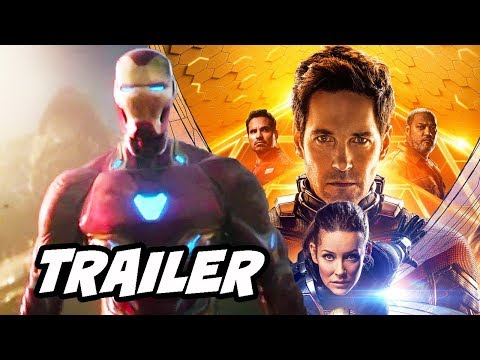 Ant-Man and The Wasp Avengers Infinity War Trailer and Avengers 4 Breakdown