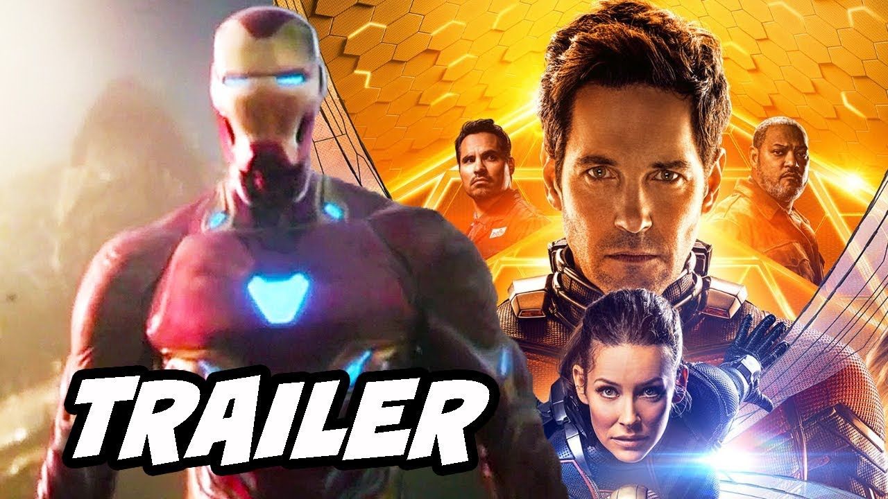 ant-man and the wasp avengers infinity war trailer and avengers 4