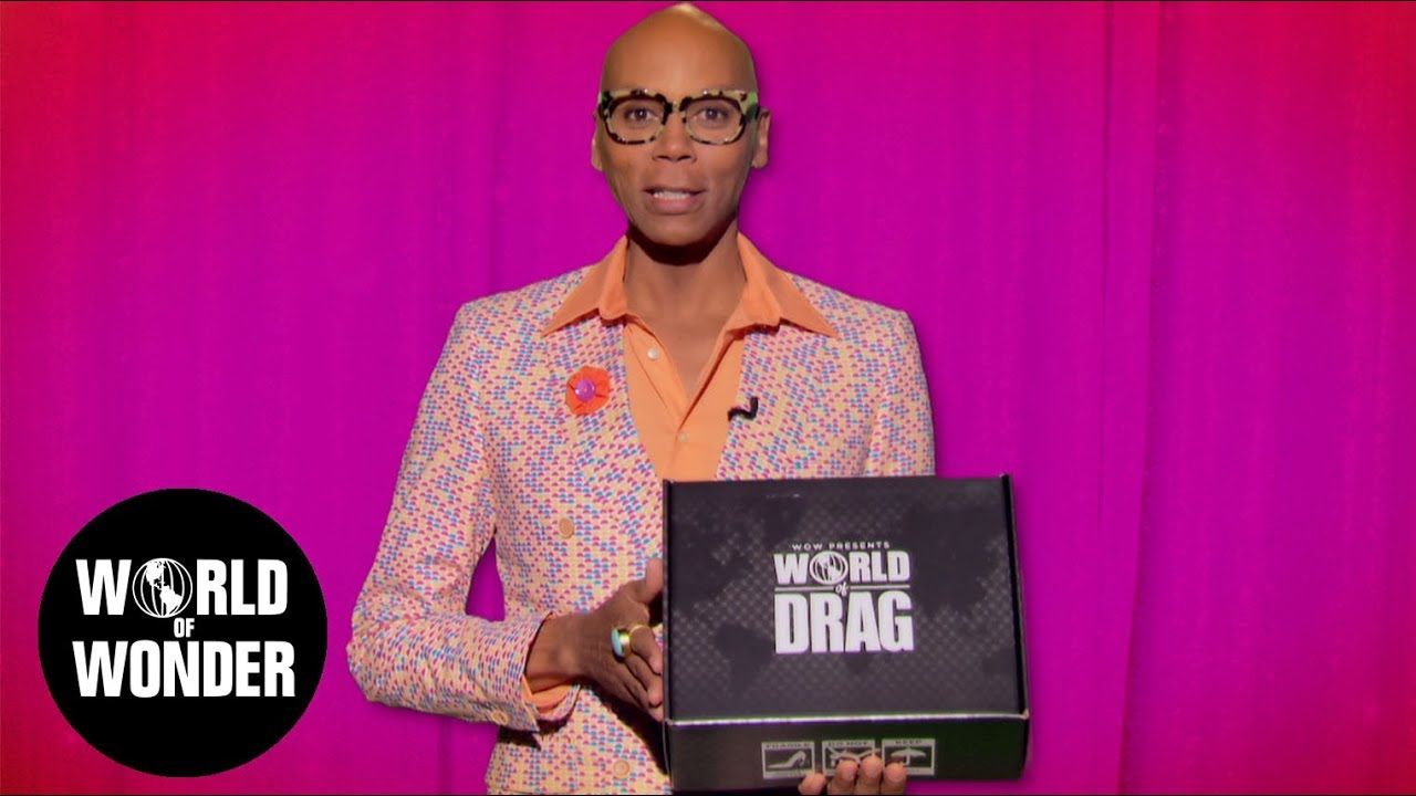 UNBOXING with RuPaul - World of Drag Box!