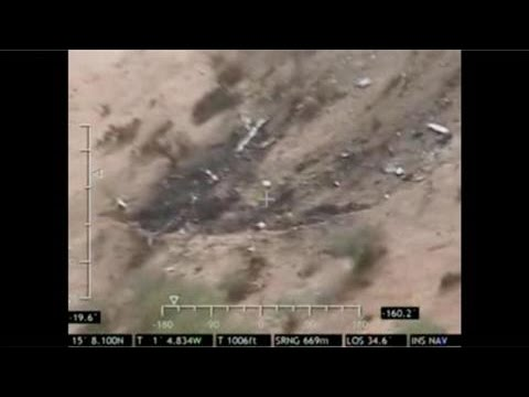 Drone Footage Shows Air Algerie Crash Site in Mali