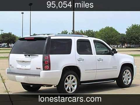 2010 Gmc Yukon Denali Used Cars Plano Texas 2017 07 09