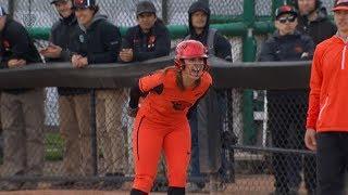 Recap: Oregon State softball defeats No. 16 Cal in Corvallis