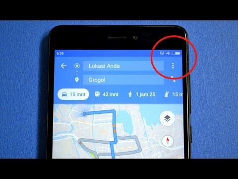 Cara Menggunakan Google Maps Ketika Offline
