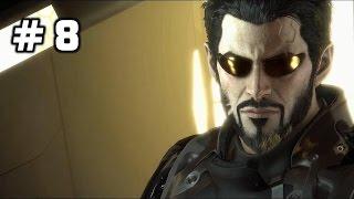 Deus Ex Mankind Divided Walkthrough Part 8 (no commentary)