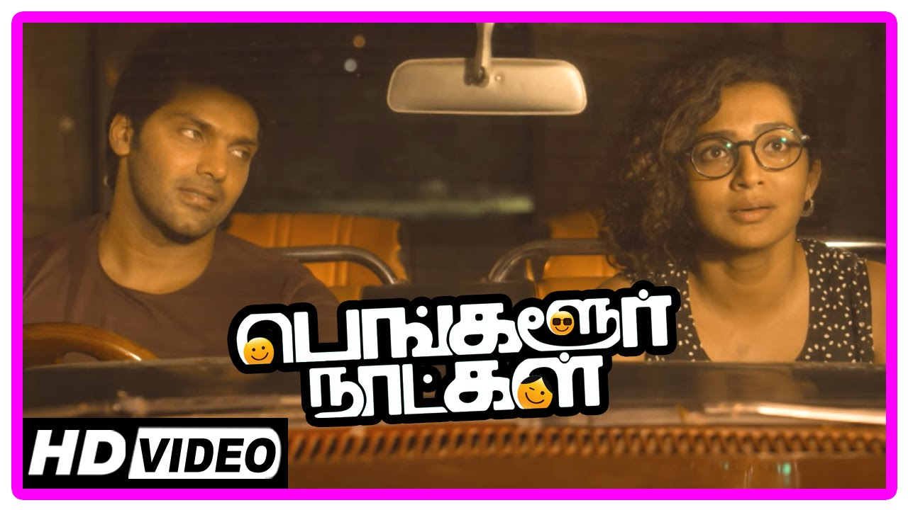 Download Bangalore Naatkal Movie Scenes   Arya surprises Parvathy   Sri Divya and Bobby Simha meet Parvathy