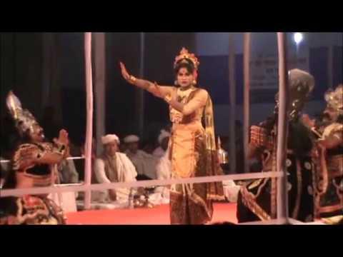 """PART OF BHAONA ( ভাওনা ) """" UTANKA MUNIR GURU DAKSINA"""" AT CHALIHA NAGAR"""