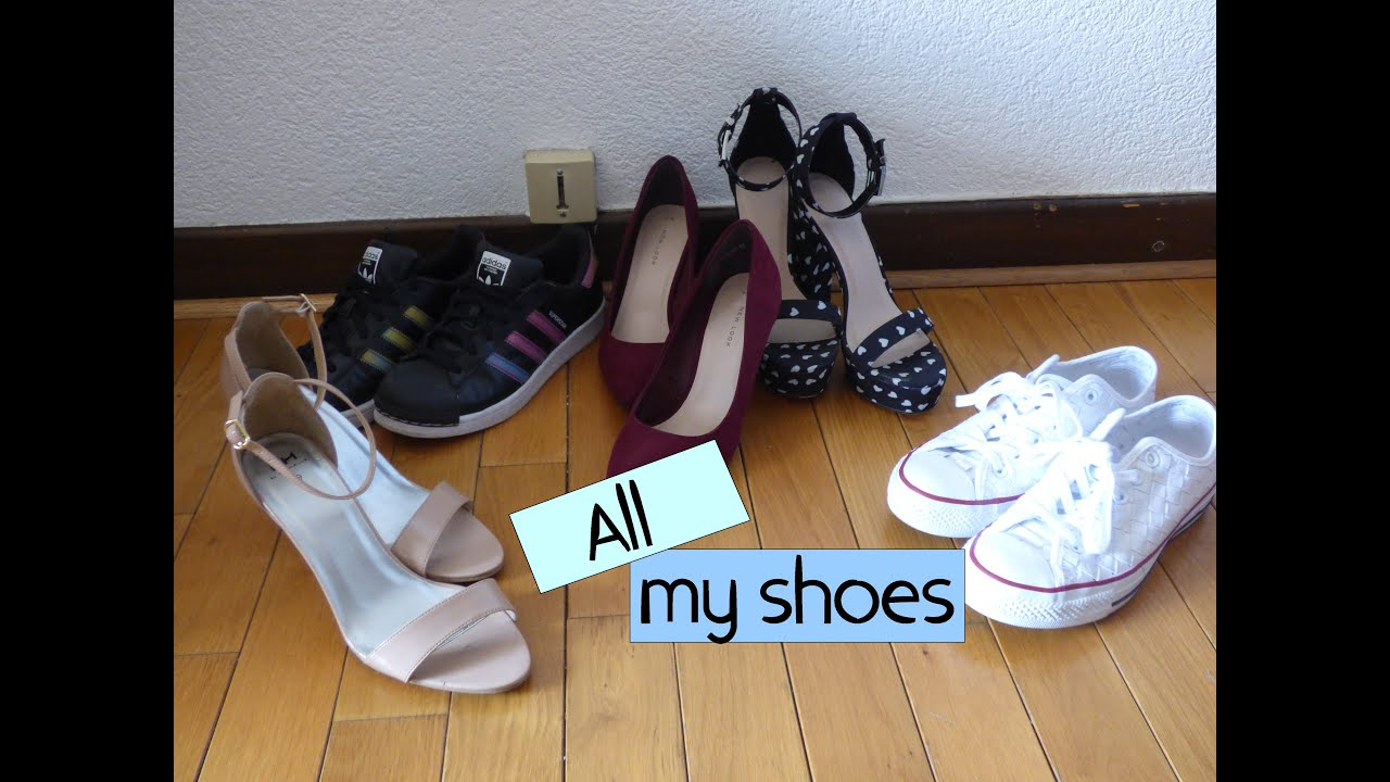 All my shoes Spring and summer by OupsBeautyAddiction