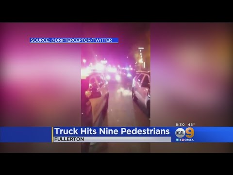Latest On Truck That Plowed Into Fullerton Crowd Injuring At Least 9