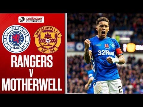 Rangers 7-1 Motherwell | Rangers Thrash 10-man Motherwell! | Ladbrokes Premiership
