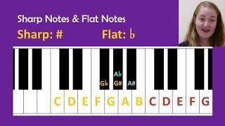 Sharps and Flats (Grade 1 Music Theory)
