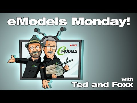 eModels live stream with Ted & Foxx