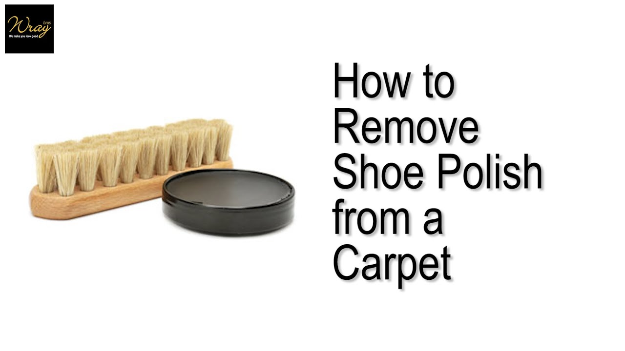 how to clean nail polish from carpet